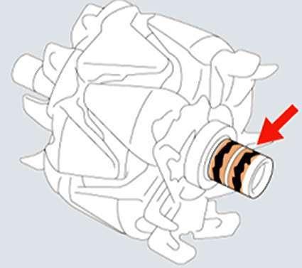Визуальный осмотр генератора