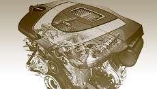 Mercedes C двигатель