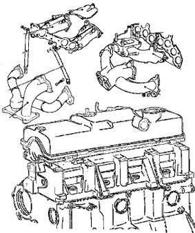 схема разборки двигателя