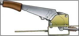 Устройство стояночной тормозной системы